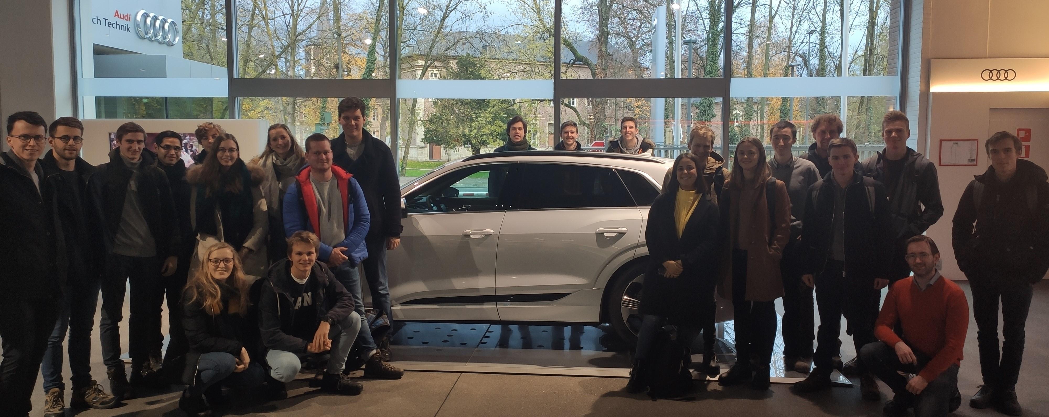 Bezoek Audi 2019